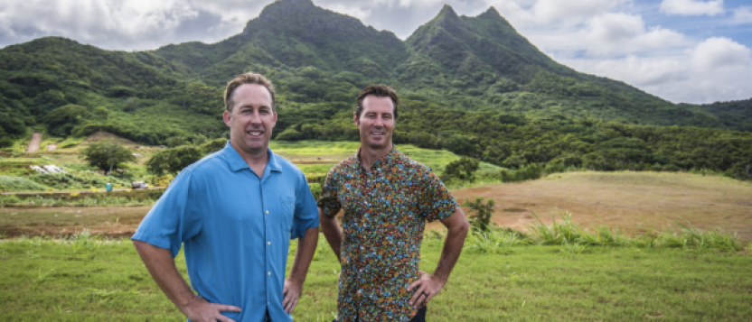 Tyler Greene and Chad Waters, partners Greenewaters Group