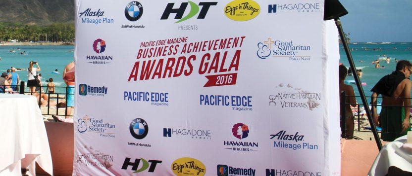 Pacific Edge Magazine Business Achievement Awards Gala 2016