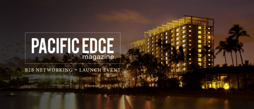 Pacific Edge Magazine Launch – March 2017